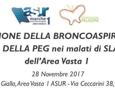 Corso sulla corretta gestione della broncoaspirazione e PEG (Fano, 28 Novembre 2017)