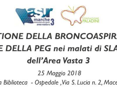 Corso sulla corretta gestione della broncoaspirazione e PEG a Macerata